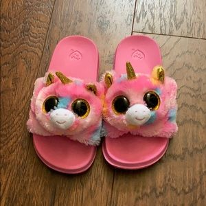 Ty slippers size (11-13)
